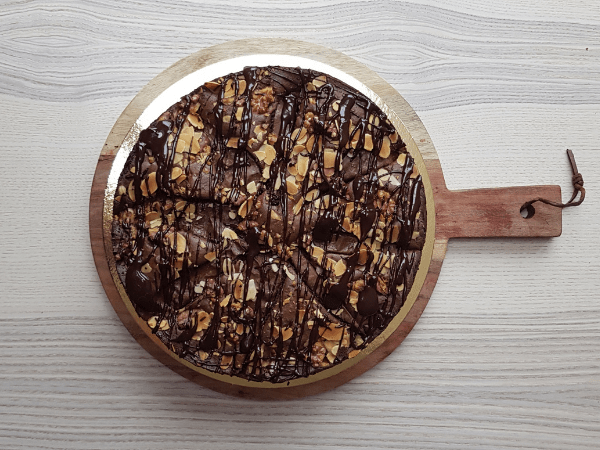 """Featured image for """"Chocolade peer taart"""""""