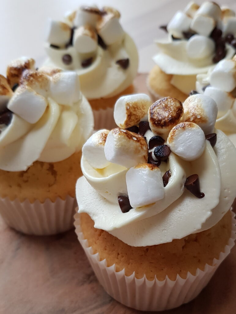 Cupcakes Toasted Smores 771x1024
