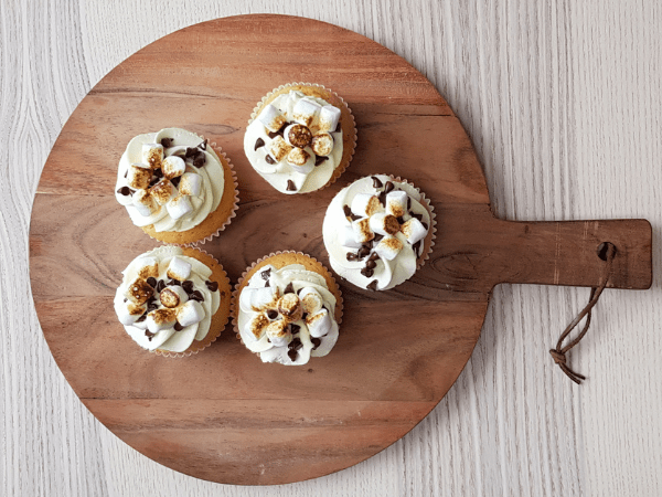 Cupcakes Toasted Smores