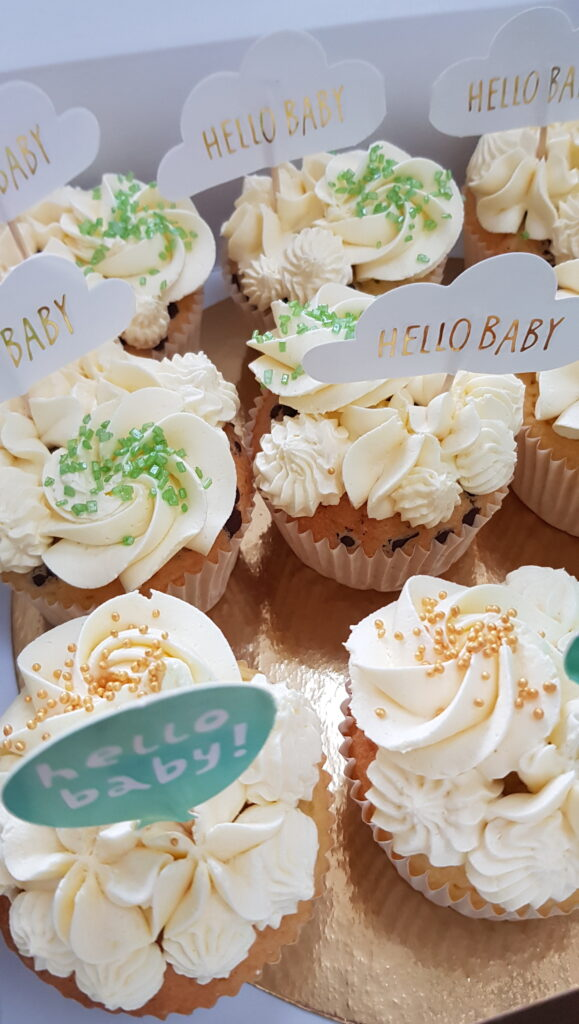 Cupcakes Voor Gender Reveal 579x1024
