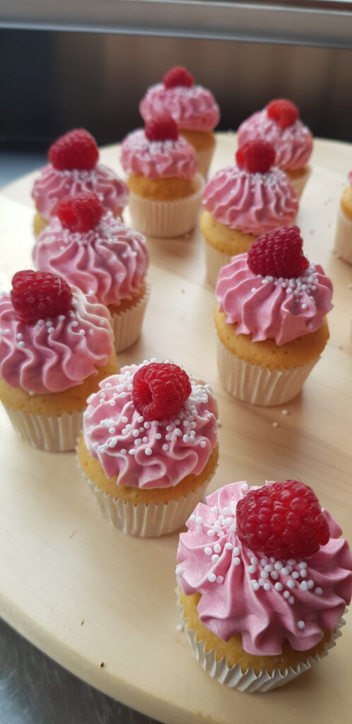Mini Cupcake Rood Fruit 498x1024